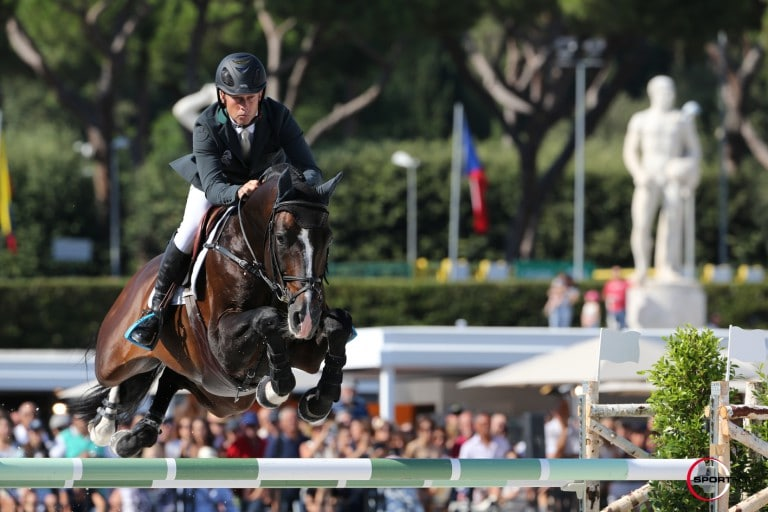 11/09/2015 ; Rome ; Global Champions Tour  CSI5*/2* Roma ; bengtsson rolf goran casall ask saturday csi5 grand prix round 2 ; Sportfot