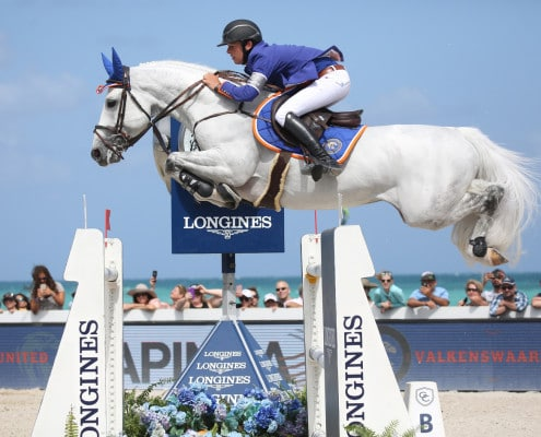 13/04/2017 ; Miami ; Miami Global Champions Tour CSI5*/2* ; 115, Hector van d'Abdijhoeve       , Allen Bertram                     ; saturday csi5 1m60 ; Sportfot